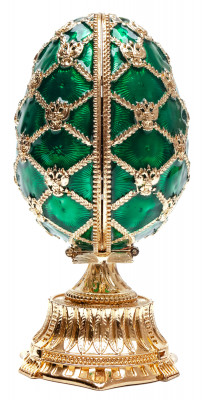 115 mm Green Easter Egg with the Basket