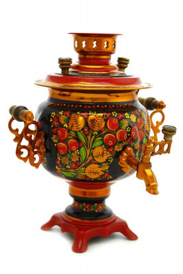 Rowan Hand Painted Electric Samovar Kettle