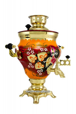 Wood Grouse Hand Painted Electric Samovar Kettle