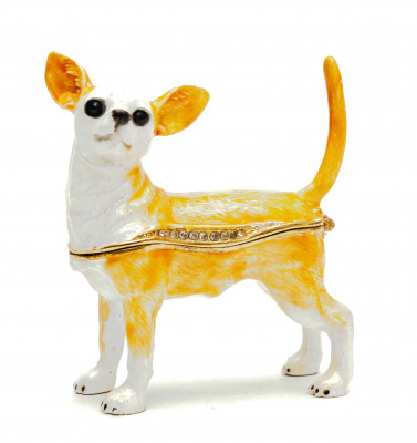 70 mm Chihuahua Jewellery Box