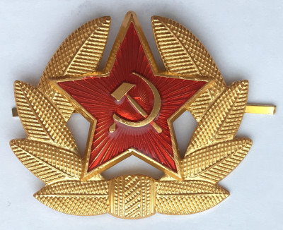 Red Army soldier Insignia Badge