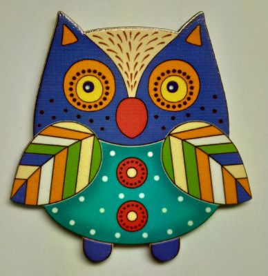 65x60 mm Owl (by Birch Gifts)