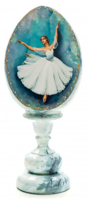 Ballerina blue  Fedoscino Easter Egg