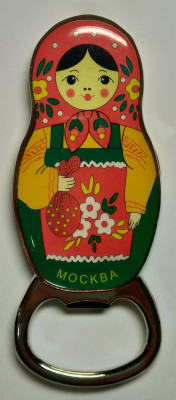 Matryoshka Magnet Bottle Opener