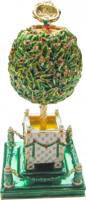 140 mm The Green Bay Tree Easter Egg