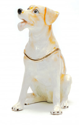80 mm Golden Retriever Jewellery Box