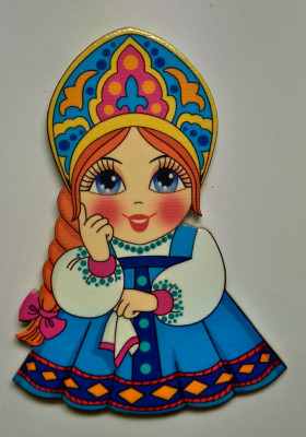 90x60 mm Matryoshka (by Birch Gifts)