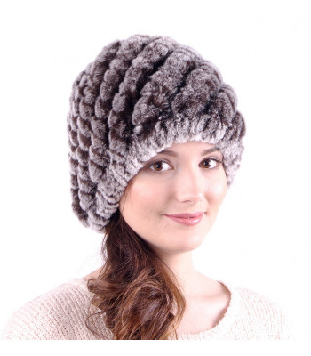 U Rabbit Hair knitted Hat