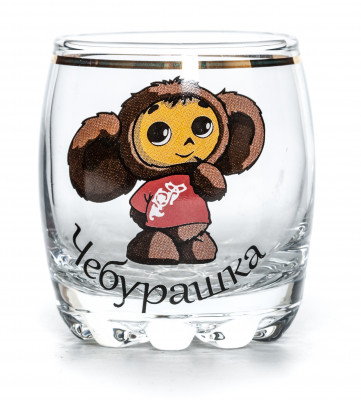Cheburashka Shot Glass