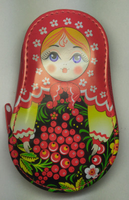 Matryoshka Manicure Set Red