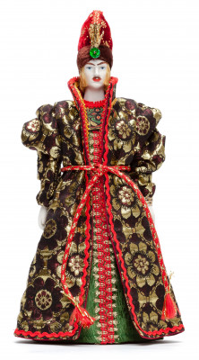 270 mm Ivan Tsarevitch Doll in a Russian Traditional Dress Porcelain Statue (by Le Russe)
