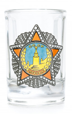 Order of Victory Shot Glass