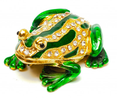 20 mm The Frog Jewellery Box Faberge