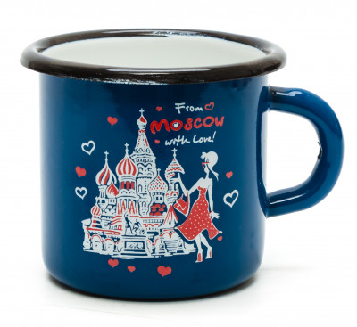 From Moscow With Love Metal Mug