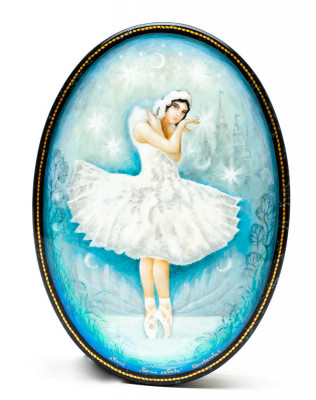 110x155 mm Marie from The Nutcracker Hand Painted Jewellery Box (by Alexander G Studio)