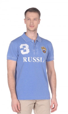 Polo Russia XXL Blue