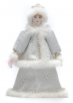 Snow Maiden Princess hand made Porcelain Doll - 11 Inches (by Le Russe)