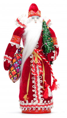 270 mm Santa Claus Porcelain Statue (by Le Russe)