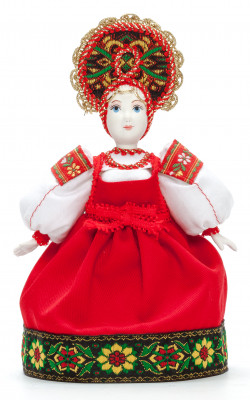 Russian Beauty Princess Porcelain Doll