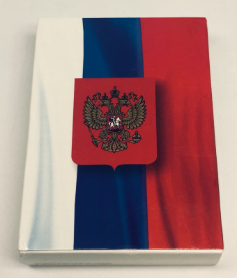 Russian Flag Playing Cards