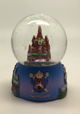 St. Basil's Cathedral Snow Globe