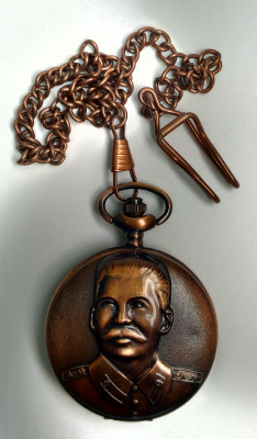 Stalin Copper Pocket Watch