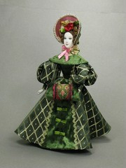 Russian Beauty hand made Porcelain Doll  - 11 Inches (by Le Russe)